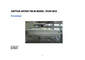 CAPTUR ARVOR 730 IB MODEL YEAR 2015