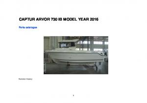 CAPTUR ARVOR 730 IB MODEL YEAR 2016