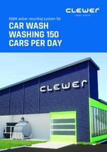 CAR WASH WASHING 150 CARS PER DAY