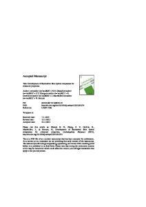 carbon fibre hybrid composites for enhanced properties