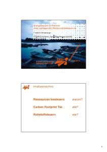 Carbon Footprint Tax