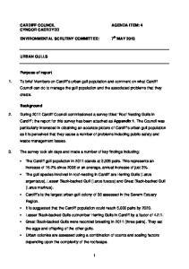 CARDIFF COUNCIL AGENDA ITEM: 4 CYNGOR CAERDYDD