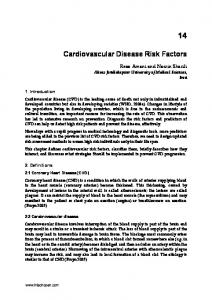 Cardiovascular Disease Risk Factors