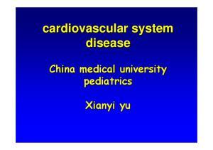 cardiovascular system disease
