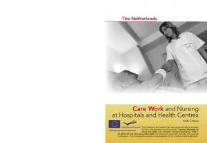 Care Work and Nursing at Hospitals and Health Centres