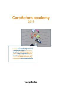 CareActors academy 2015