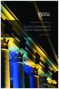 Career Celebration & Senior Appreciation