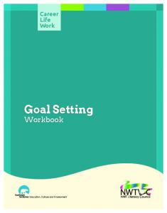 Career Life Work. Goal Setting Workbook