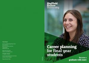 Career planning for final year students