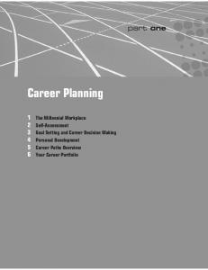 Career Planning. part one