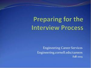 careers. Fall 2009