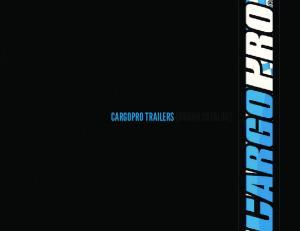 CARGOPRO TRAILERS [BRAND CATALOG]