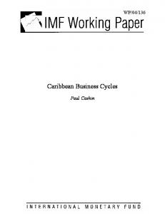 Caribbean Business Cycles