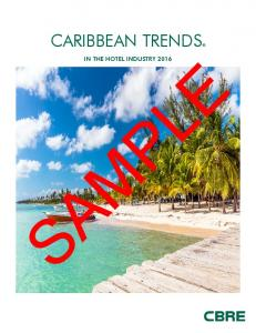 CARIBBEAN TRENDS IN THE HOTEL INDUSTRY 2016