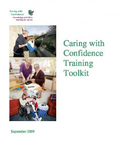 Caring with Confidence Training Toolkit