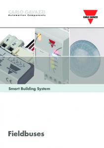CARLO GAVAZZI Automation Components. Smart Building System