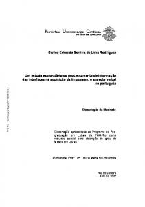 Carlos Eduardo Serrina de Lima Rodrigues
