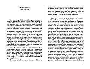 Carlos Fuentes CHAC MOOL