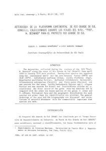 CARLOS J. CARRERA-RODRt'GUEZ 1 & LUIZ ROBERTO TOMMASI SYNOPSIS