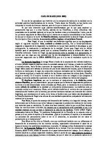 CARLOS MARX ( )