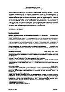 CARLOS SAITO SILVA Cel.: