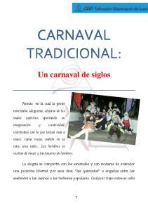 CARNAVAL TRADICIONAL: