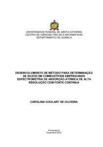 CAROLINA GOULART DE OLIVEIRA