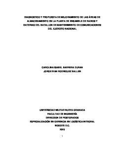 CAROLINA ISABEL BARRERA DURAN JORGE IVAN RODRIGUEZ BALLEN