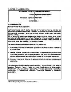 Carrera: PSC-1026 SATCA