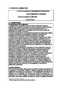 Carrera: PSC-1037 SATCA