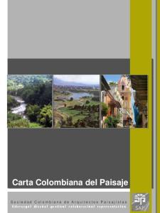Carta Colombiana del Paisaje