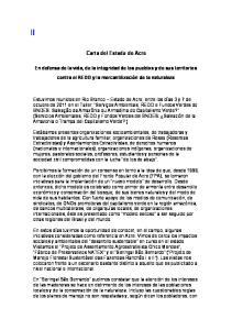 Carta del Estado de Acre