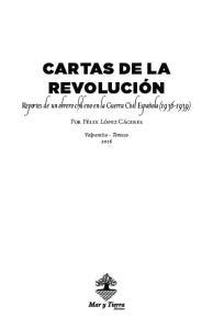 CARTAS DE LA REVOLUCIÓN