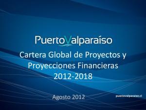 Cartera Global de Proyectos y Proyecciones Financieras