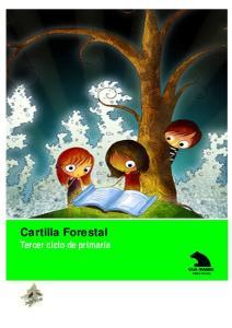 Cartilla Forestal Tercer ciclo de primaria