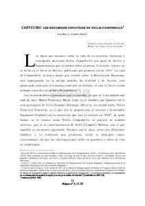 CARTUCHO: LOS RECUERDOS INFANTILES DE NELLIE CAMPOBELLO 1