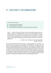 CASE STUDY 3: THE HORROR GENRE