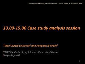 Case study analysis session