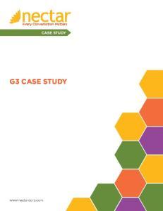 CASE STUDY G3 CASE STUDY