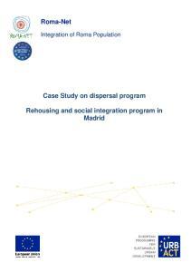 Case Study on dispersal program. Rehousing and social integration program in Madrid