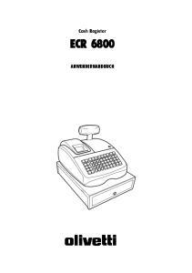 Cash Register ECR 6800 ANWENDERHANDBUCH