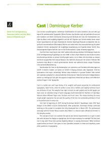 Cast Dominique Kerber