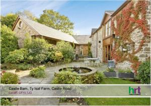 Castle Barn, Ty Isaf Farm, Castle Road. Cardiff, CF15 7JQ