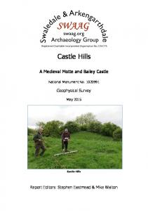 Castle Hills. A Medieval Motte and Bailey Castle. National Monument No Geophysical Survey. May Castle Hills