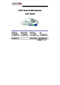 CAT5 Smart KVM Extender User Guide