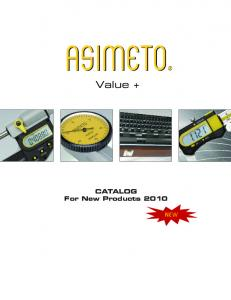 CATALOG For New Products 2010
