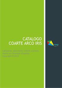 CATALOGO COARTE ARCO IRIS