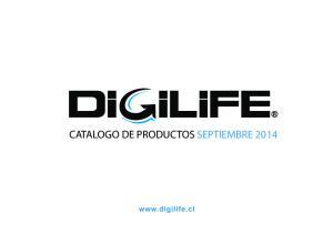CATALOGO DE PRODUCTOS SEPTIEMBRE 2014