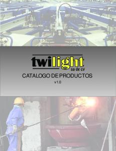 CATALOGO DE PRODUCTOS v1.0
