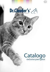 Catalogo. exclusivo para gatos